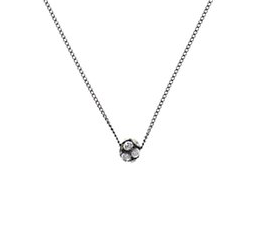 Disco Ball Small Necklace - Crystal