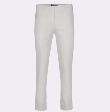 Bella 3/4 Length Trousers in Putty Grey 92