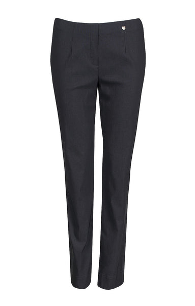 Marie Full Length Trousers in Anthracite Grey 97