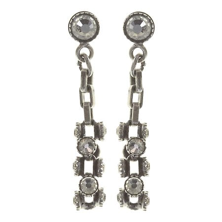 Dangling Stud Neon Lights Crystal or Champagne - small