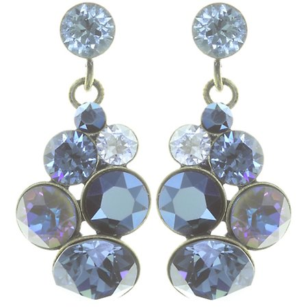 Petit Glamour Dark Blue Earrings