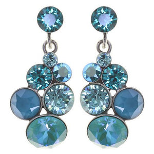 Petit Glamour Lagoon Blue Earrings