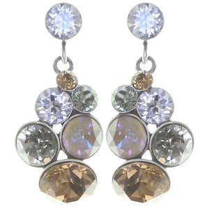 Petit Glamour Brown/Grey Earrings