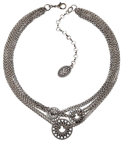 Rosone Multi Chain Necklace