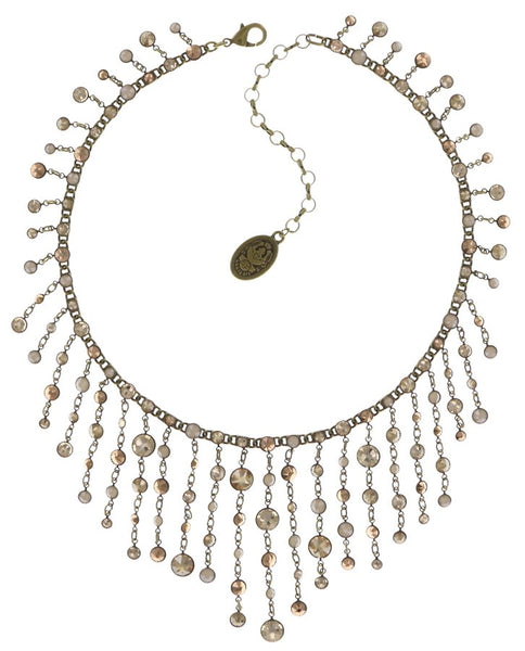 Waterfalls Necklace - Champagne