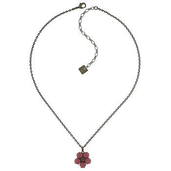 Flower Zum Zum Rounded Pendant Necklace