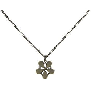 Flower Zum Zum Pendant Necklace