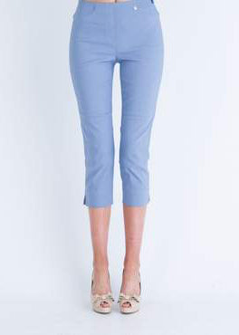 Rose 07 Crop Trousers in Light Blue 62