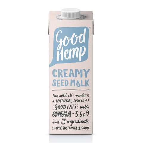 Good Hemp Original Hemp Milk (1L) - Cabinet Organic