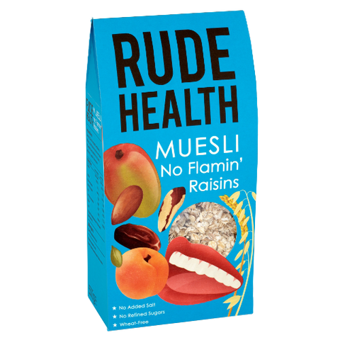 No Flamin' Raisins Muesli (500g) - Rude Health