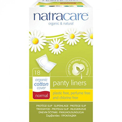 Wrapped Normal Panty Liners (18 pads) - Natracare