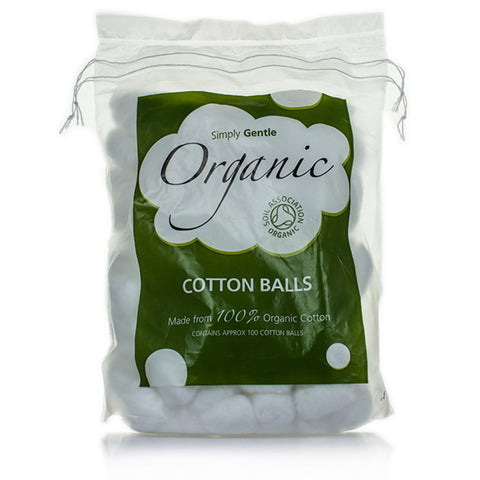 Simply Gentle Cotton Wool Balls - Cabinet Organic