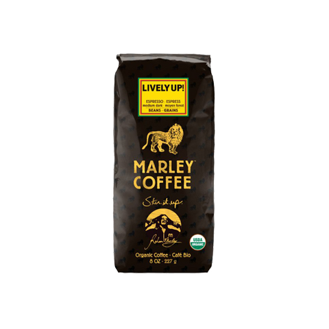 Marley Coffee Lively Up Coffee (227g) - Cabinet Organic