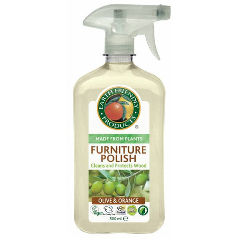 Earth Friendly Furniture Polish Spray (500ml) - Cabinet Organic