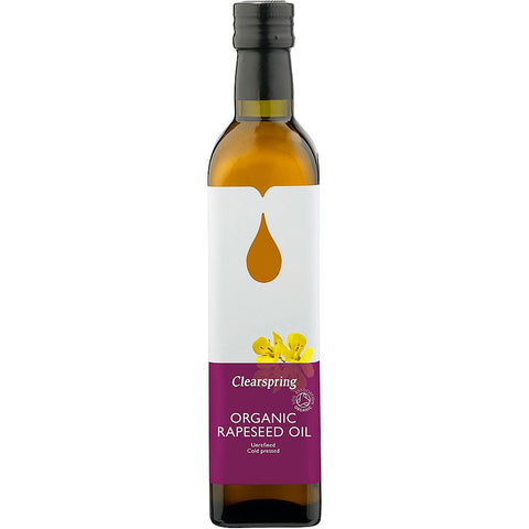 Rapeseed Oil (500ml) - Clearspring