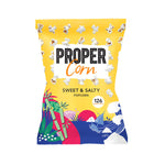 Proper Sweet & Salty Popcorn Sharing Pack 90g - Cabinet Organic