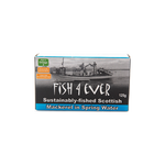 Fish4ever Mackerel in Spring Water (125g) - Cabinet Organic
