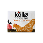 Kallo Very Low Salt Organic Chicken Stock Cube (6x11g) - Cabinet Organic