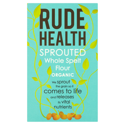 Sprouted Whole Spelt Flour - Rude Health