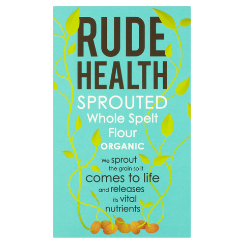 Rude Health Organic Sprouted Whole Spelt Flour - Cabinet Organic