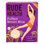 Rude Health Puffed Brown Rice (225g) - Cabinet Organic