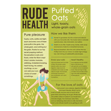 Puffed Oats (175g) - Rude Health