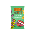 Rude Health Black Bean Cornitas (90g) - Cabinet Organic