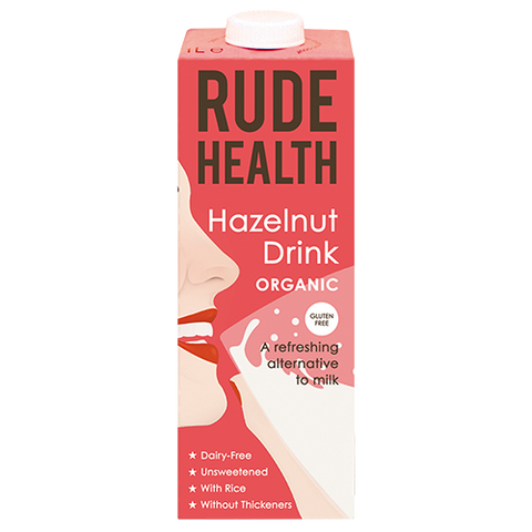 Hazelnut Drink (1L) - Rude Health