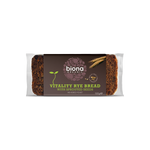 Biona Rye Vitality Bread with Sprouted Seeds - Cabinet Organic