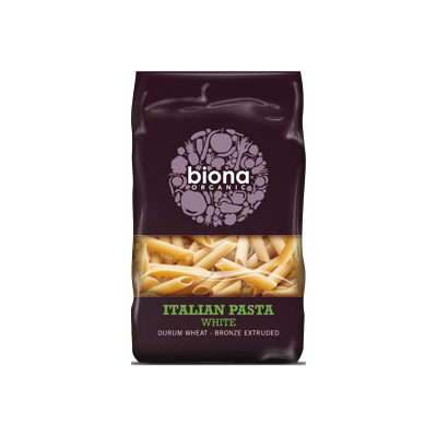 Biona White Penne bronze extruded (500g) - Cabinet Organic