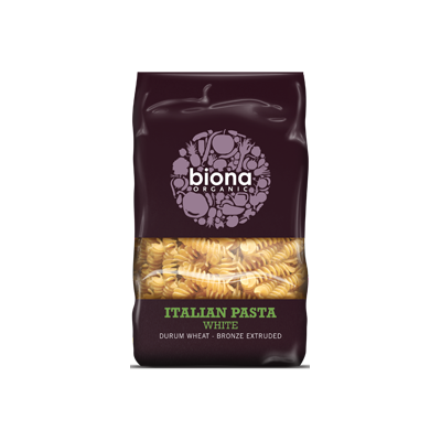 Wheat Fusilli bronze extruded - Biona