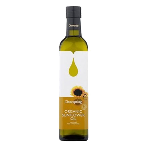 Clearspring Organic Sunflower Frying Oil (500ml) - Cabinet Organic