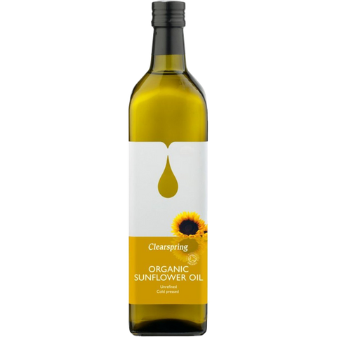 Clearspring Organic Sunflower Frying Oil (1L) - Cabinet Organic
