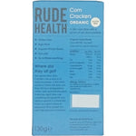 Rude Health Corn Crackers - Cabinet Organic