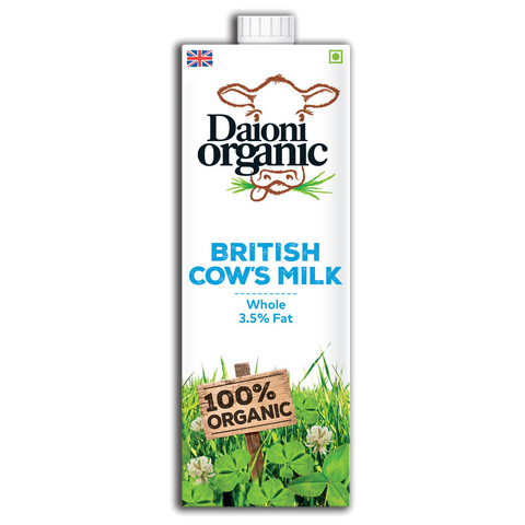 Daioni Organic Whole Fat Milk - Cabinet Organic