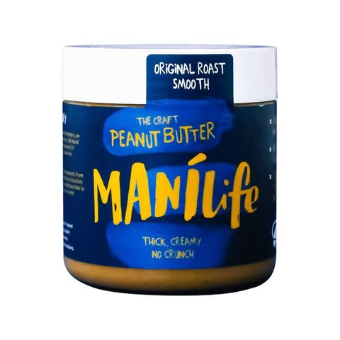 Manilife Original Smooth Peanut Butter (295g) - Cabinet Organic