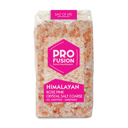 Himalayan Rose Pink Salt- Coarse - Profusion