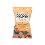 Proper Peanut Butter & Almond Popcorn Single Serve - Cabinet Organic