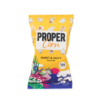 Proper Sweet & Salty Popcorn Single Serve - Cabinet Organic