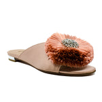 Lotus crystal-embellished slides