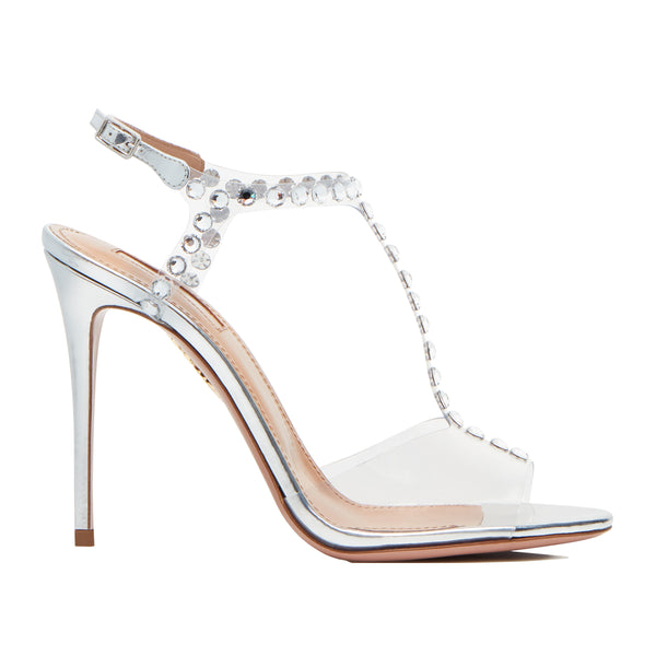 Shine 105 crystal-embellished PVC sandals