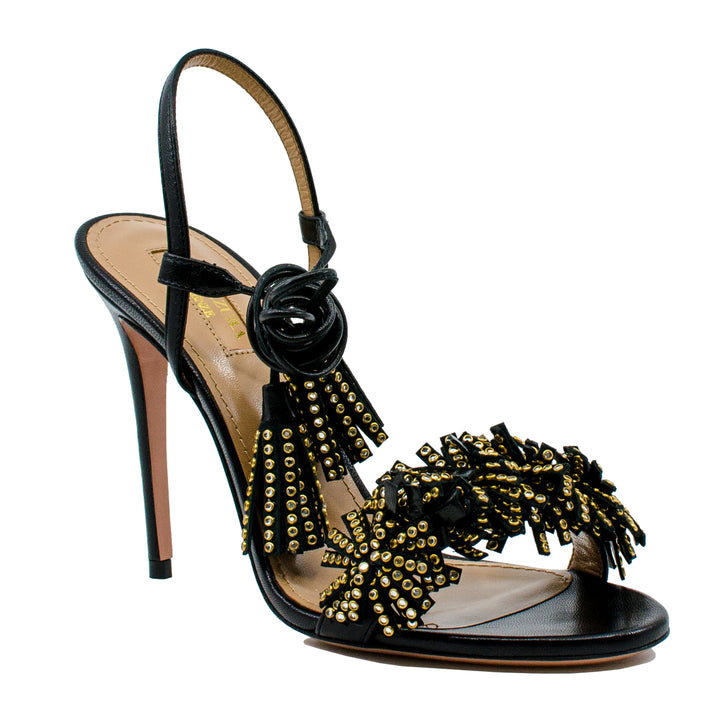 Wild Thing 105 crystal-embellished sandals