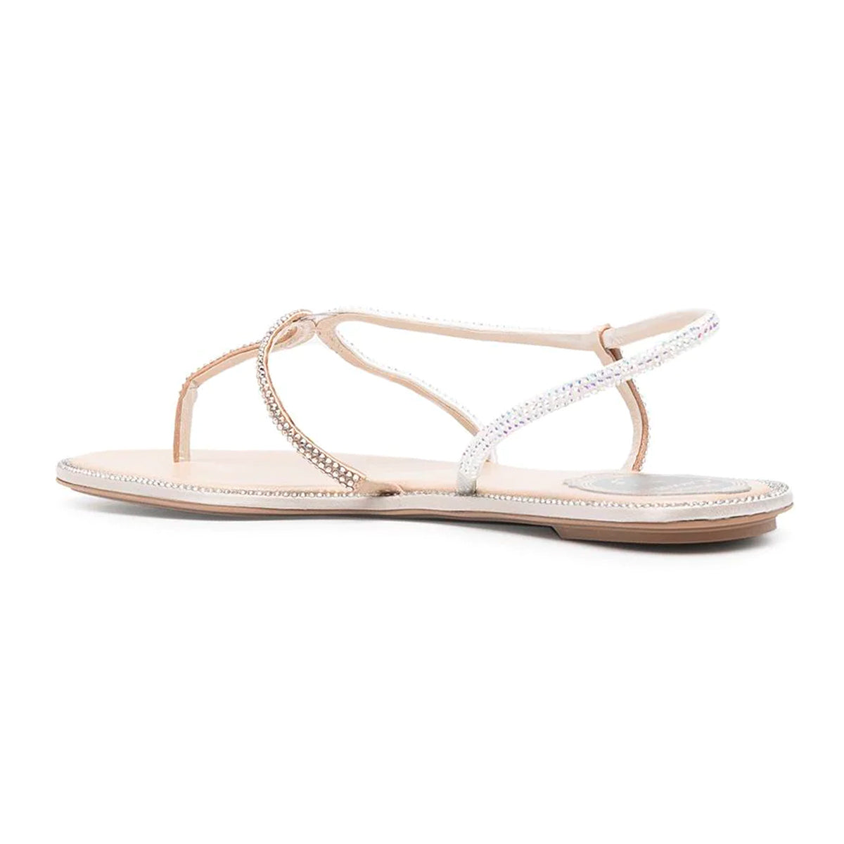 Arielle Crystal Embellished Flat Sandals