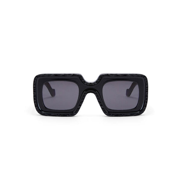 Acetate Runway Wave Sunglasses