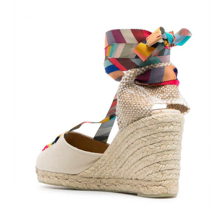 Castaner X Paul Smith Coralia Wedge Espadrilles