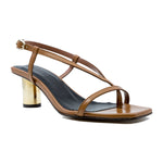 Melilla Fine Sandal with 55mm Gold Heel