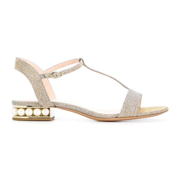 Casati Pearl T-Bar Sandals
