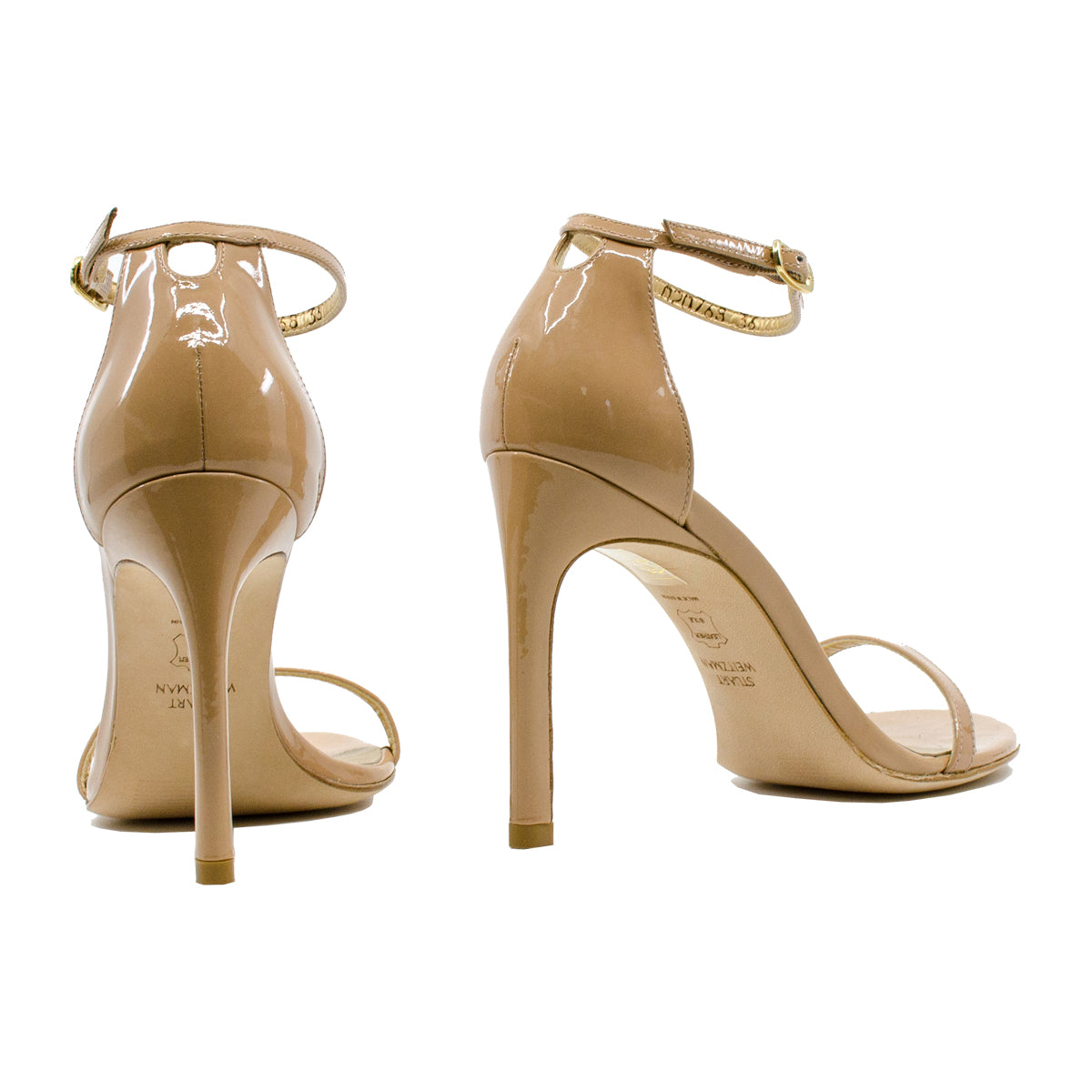 Nudistsong Patent Leather Sandals