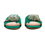 Dandelion Brooch Satin Slides