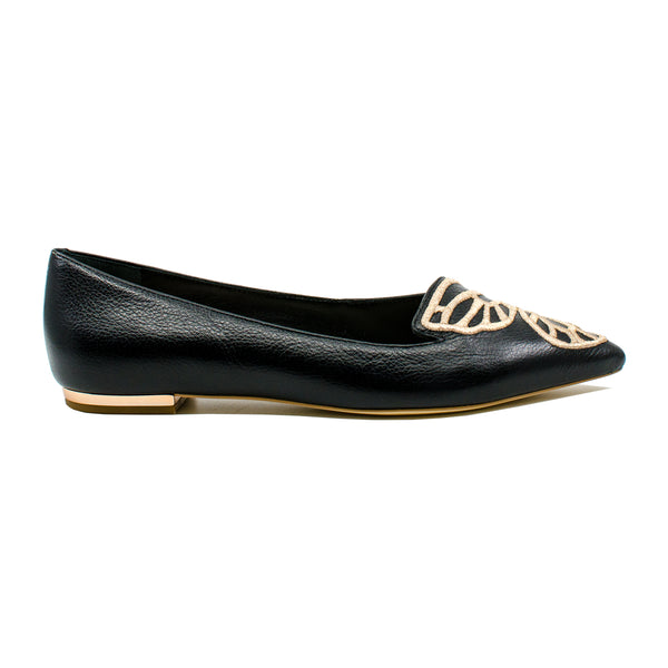 Bibi Butterfly Leather Flats